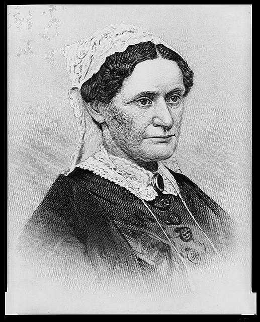 1865-1869: Eliza McCardle Johnson wasn't happy with her husband's position as President, but moved into a second-floor room in the White House that was the center of activities. She was a competent, unpretentious, and gracious host of social duties.