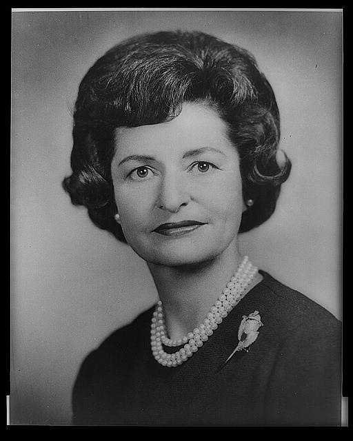 1963-1969: Lady Bird Johnson became an ambassador of goodwill by visiting 33 foreign countries. She created a First Lady's Committee for a More Beautiful Capital, and then expanded the program to include the entire nation.