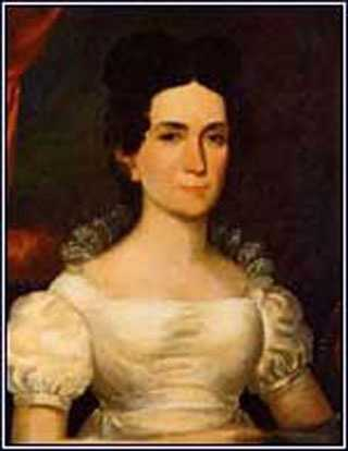 1841-1845: Letitia Christian Tyler was John Tyler's first wife, and the first President's wife to die in the White House.