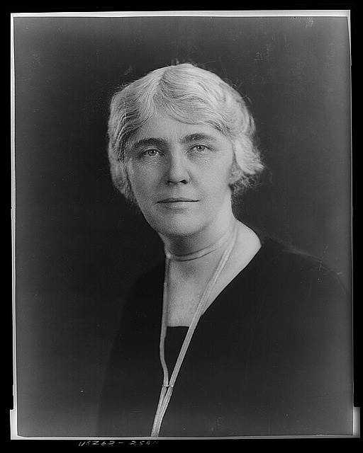 1929-1933: Lou Henry Hoover was admirably equipped to preside at the White House, bringing her long experience as the wife of a man eminent in public affairs at home and abroad. She paid for furniture for a period sitting room with her own money, and restored Lincoln's study for her husband's use.