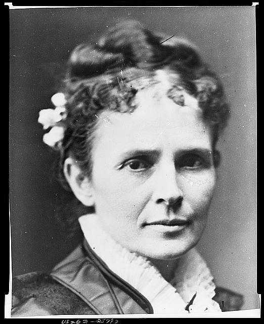 1881: Lucretia Rudolph Garfield shared intellectual interested with her husband, went with him to meetings of a locally celebrated literary society, and was nearly inseparable from him as his career permitted.