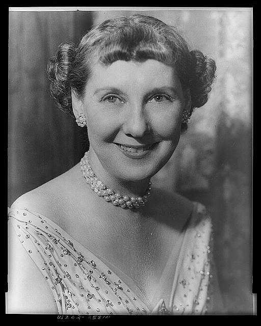 1953-1961: Mamie Doud Eisenhower always traveled with her husband and was warmly welcomed as First lady. It was evident she enjoyed her role and it endeared her to her guests and to the public.