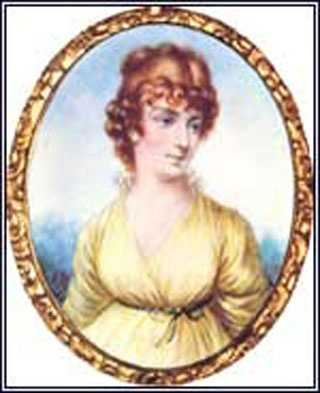 1801-1809: Family tradition says that Martha Wayles Skelton Jefferson was accomplished and beautiful with a slender figure, hazel eyes, and auburn hair. Martha died before Jefferson was elected President.