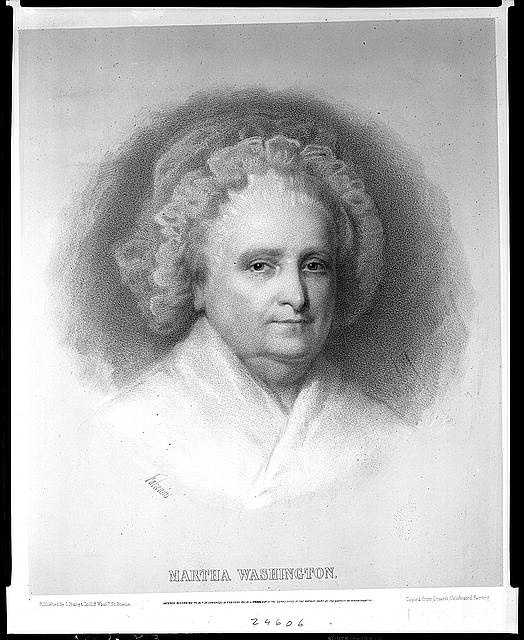 1789-1797: Martha Washington was said to have brought tact and discretion, and always made her guests feel welcome and put strangers at ease.