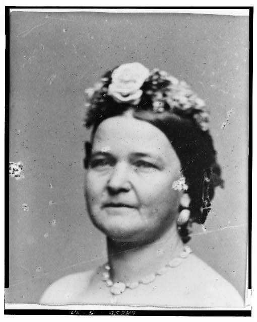 1861-1865: Mary Todd Lincoln was vivacious and impulsive with an interesting personality. Critics were skeptical about her loyalty, and she was accused of unpatriotic extravagance when she entertained.