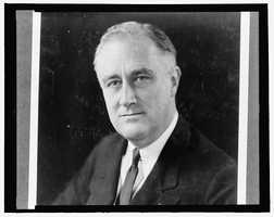 "1933-1945: Franklin D. Roosevelt helped the American people regain faith in themselves at the depth of the Depression, and asserted into his Inaugural Address, ""the only thing we have to fear is fear itself."""