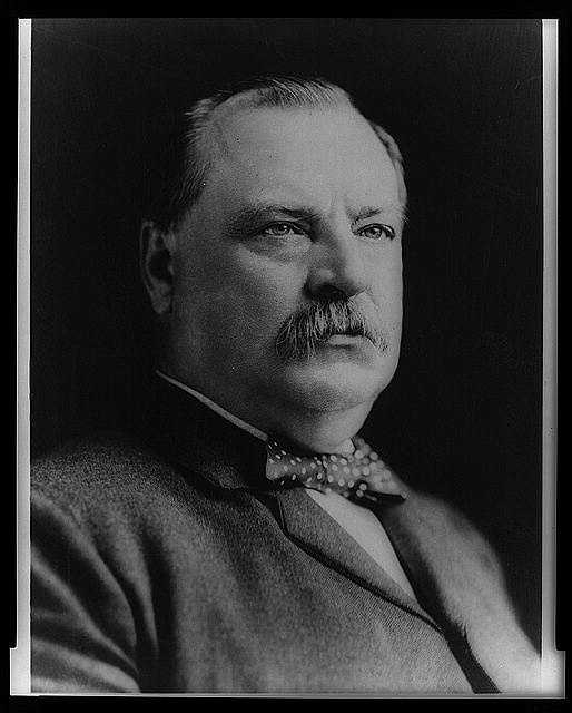 1893-1897: Grover Cleveland was the only President to leave the White House and return for a second term four years later. Dealing with acute depression, he dealt directly with the Treasury crisis rather than with business failures, farm mortgage foreclosures, and unemployment.