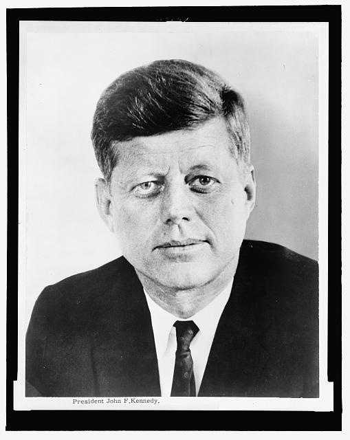 1961-1963: John F. Kennedy was the youngest man elected President and the youngest to die. He was barely past his first thousand days in office when he was assassinated in Dallas, Texas.