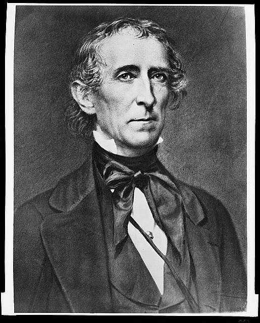 1841-1845: John Tyler was the first Vice President to be elevated to the office of President by the death of his predecessor. He insisted on assuming the full powers of a duly elected President, and signed a tariff bill that protected northern manufacturers.