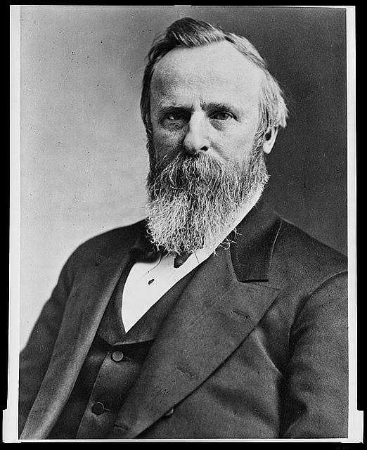 "1877-1881: Rutherford Birchard Hayes brought dignity, honesty, and moderate reform to the White House. He withdrew troops from the South in hopes that appeasing policies would lead to the building of a ""new Republican party"" in the South, but to no avail. Hayes announced in advance he would only serve one term."