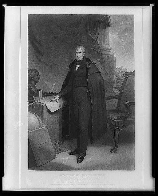 1841: William Henry Harrison was nominated for President by the Whigs. Before he had been in the office for a month, Harrison caught a cold that developed into pneumonia. He became the first President to die in office.