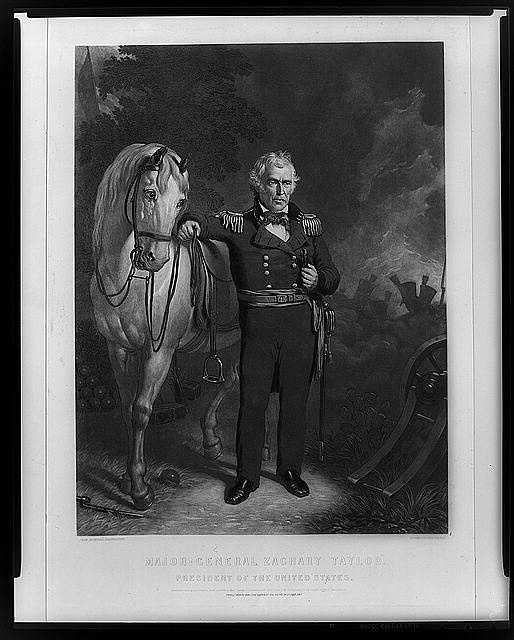 1849-1850: Zachary Taylor was a nationalist who didn't defend slavery or southern sectionalism. When southern leaders threatened succession, Taylor said he would enforce the laws and lead the Army if necessary. He died soon after.