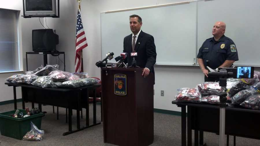 Carlisle police seized more than 20,000 doses of synthetic drugs from two corner stores – NS Deli and Deli Creations.