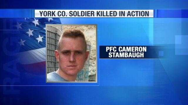 York County soldier death