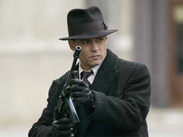 Johnny Depp portrayed John Dillinger in 2009's Public Enemies. The film centers on the FBI's hunt for the notorious gangster during the 1930s, and how Dillinger was eventually betrayed by an acquaintance who told the Feds where he would be on the night of his death.