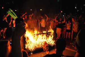 Colorado: In Boulder, it's illegal to place your couch on your outside porch. Apparently the University of Colorado had a reputation to burn couches after big events, like winning a football game, and this was one way to stop couch burning enthusiasts.