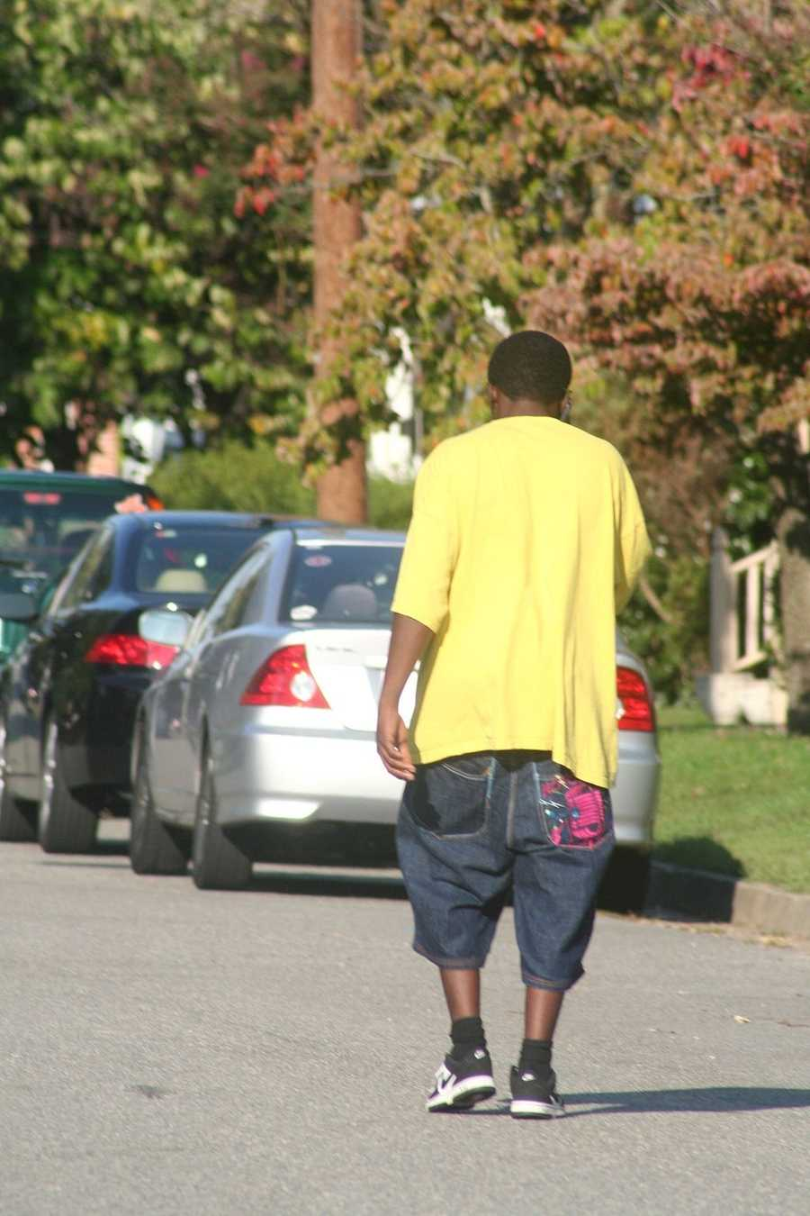 "Illinois: It's illegal to wear sagging pants. In fact, all pants must be ""secured at the waist to prevent pants from falling…causing exposure to one's undergarments."""