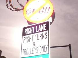 Maryland: It is considered a misdemeanor to swear on the highway if a passerby is within ear shot. On the other hand, you're okay if the other person doesn't hear you.