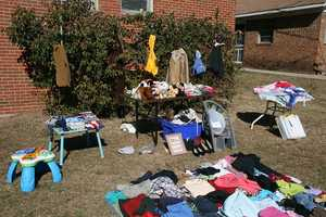Missouri: In University City, you aren't allowed to have a yard sale in your front yard.