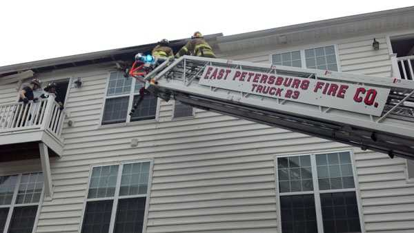 The fire may have been sparked by a lighting strike.