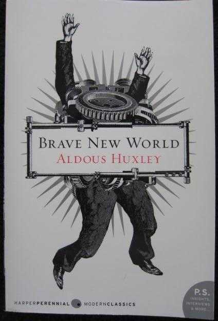 "16. Brave New World by Aldous Huxley: Banned or challenged because it makes promiscuous sex ""look like fun"" and is ""centered around negative activity."""