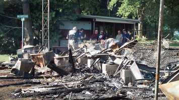 The family who owns the home was last there on Sunday afternoon.