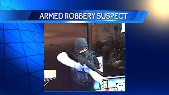 Franklin County armed robber