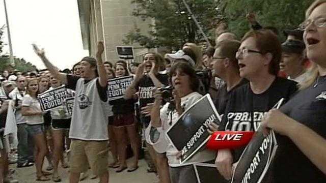 Penn State rally