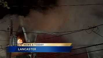 The fire started about 3:30 a.m. Friday in the 500 block of East Chestnut Street.