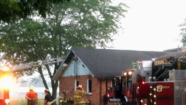 Milton Hershey fire