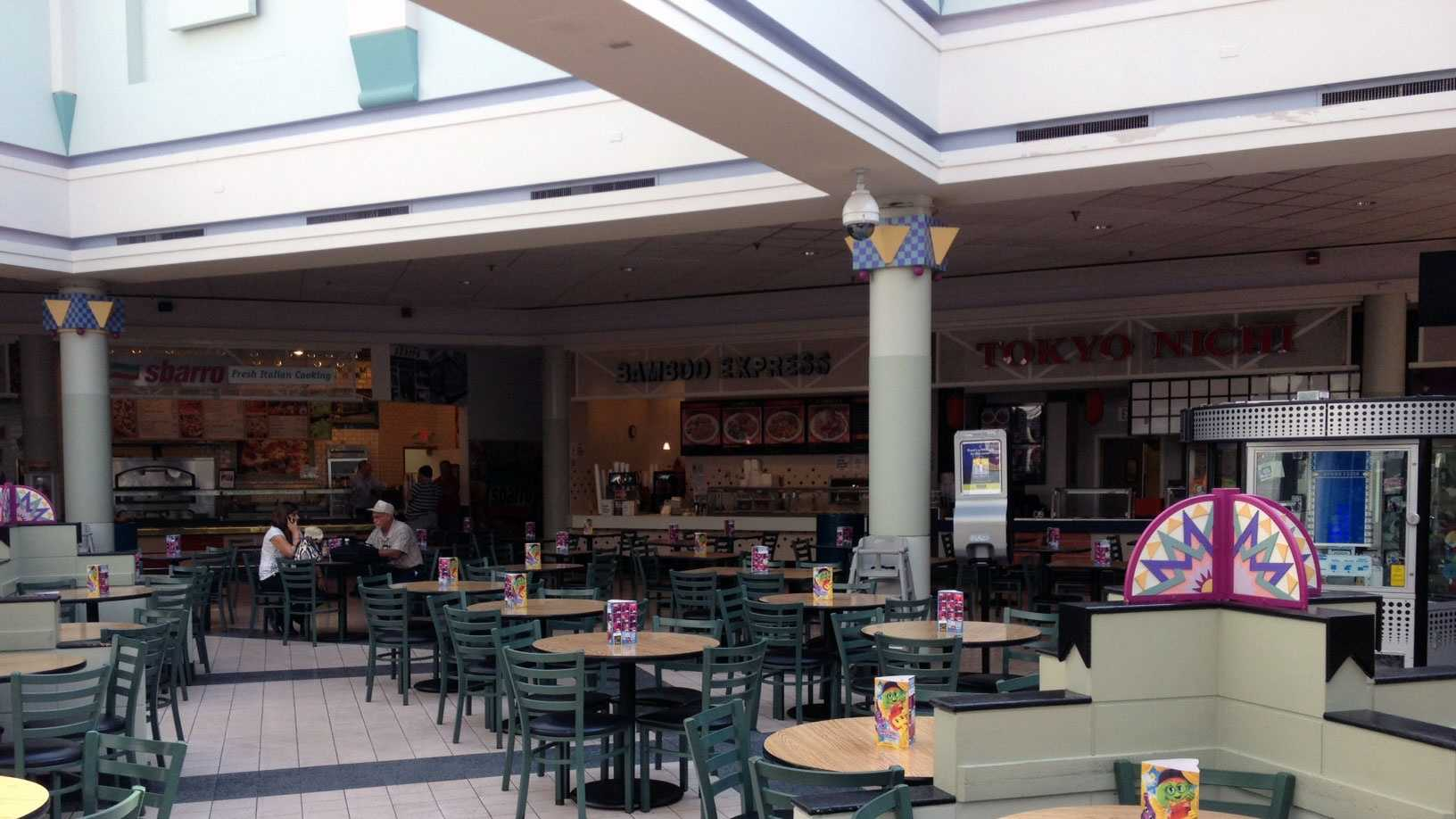 Food court reopens