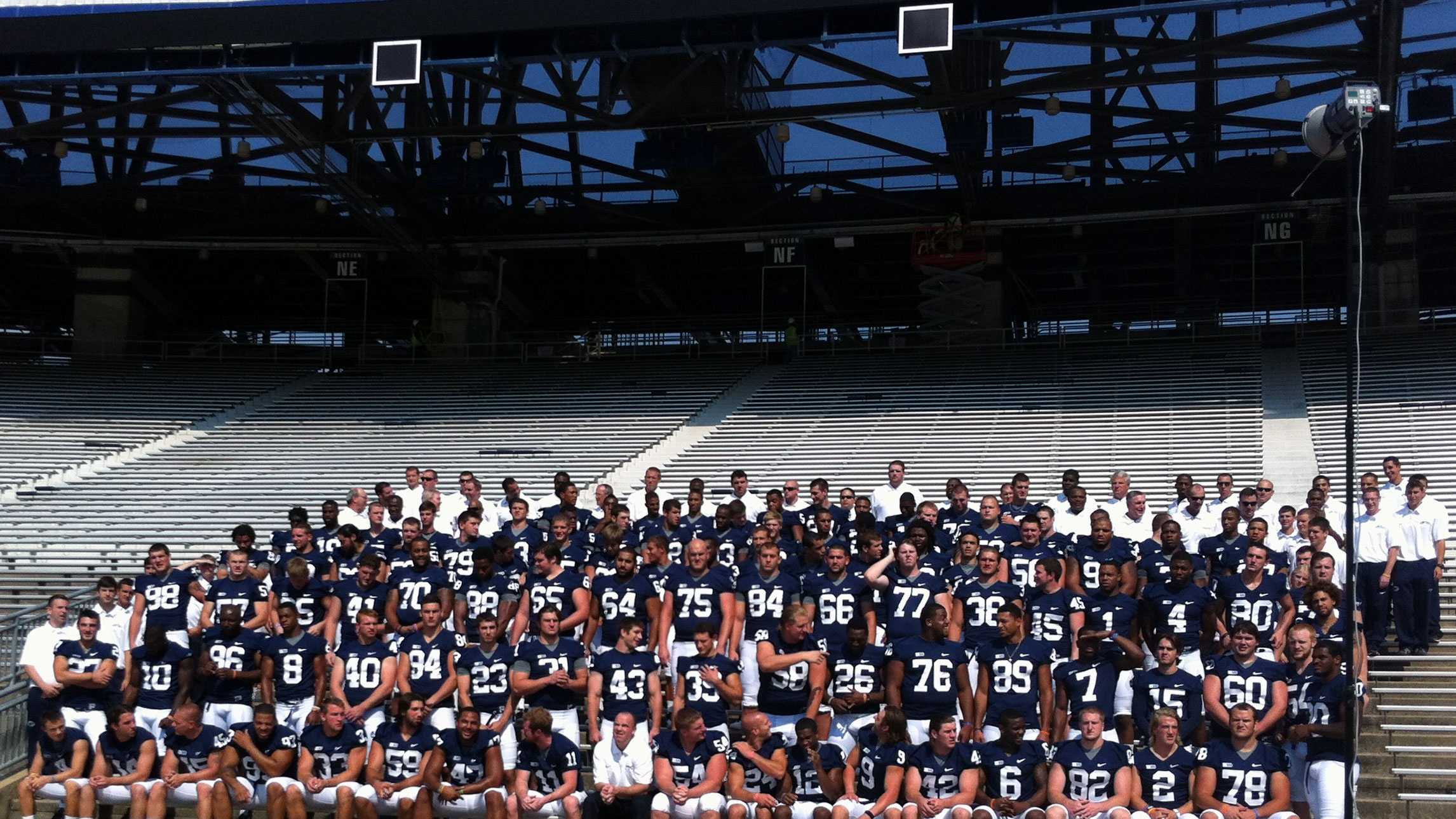 The Nittany Lions held their first media day in decades without Joe Paterno.