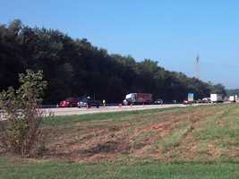 Two people were killed in a crash on Route 11/15 in Watts Township, Perry County, when a pickup truck collided with a tractor-trailer, according to state police.