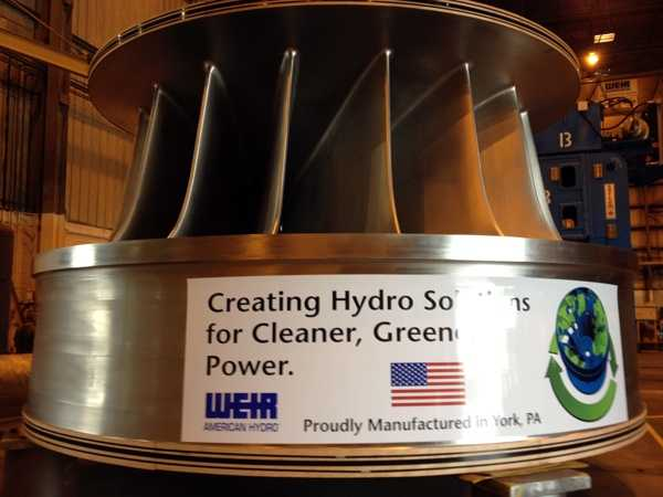 The giant turbine will start a 2,073 mile cross-country journey on Monday, Aug. 20.