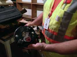 Crews clearing the third floor of York's old City Hall have come across items dating to the 1890s.