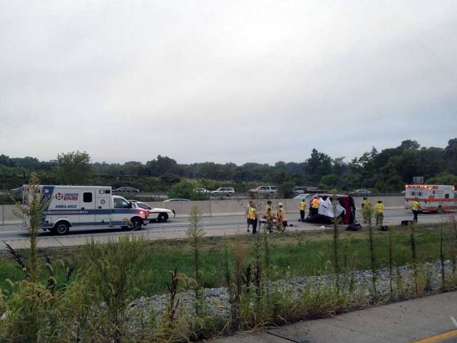 Luke Newswanger, 78, of Lancaster, was killed in the crash that happened about 7 a.m. in the westbound lanes of Route 30, just east of the Route 23 on ramp.