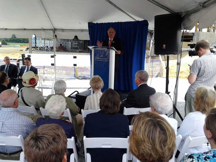 The $44 million, two-story, 70,000-square-foot facility in Lancaster County will provide advanced technology and integration of cancer care.