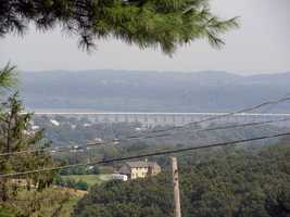 Mount Pisgah is the highest point in the area and offers a spectacular panoramic view of the Susquehanna River ...