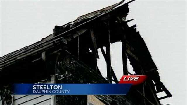 Police and the homeowner believe the fire was intentionally set by some kids in the neighborhood.