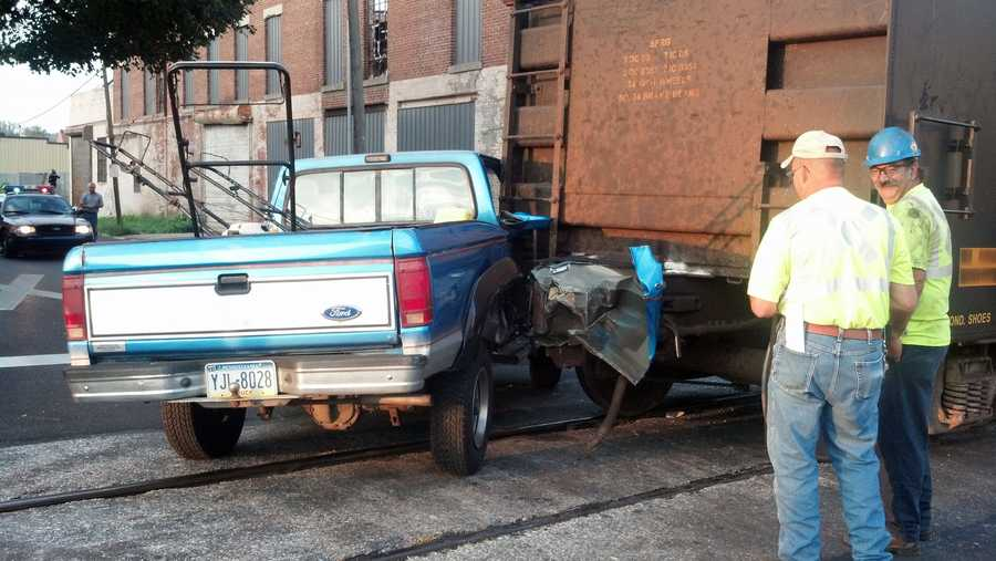 The crash happened about 6:45 a.m. in the area of East Princess and South Albemarle streets.