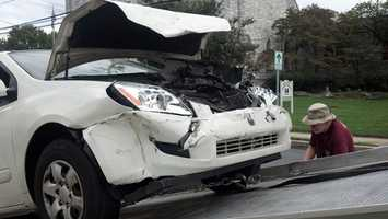 The crash happened near West Main Street and North Church Street in Mountville Borough around 4 p.m.