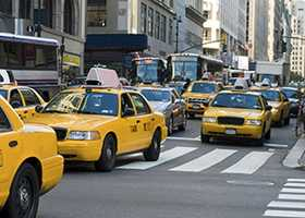 Tip No. 6: When using a taxi, ask the driver to wait and watch until you are safely inside your destination.