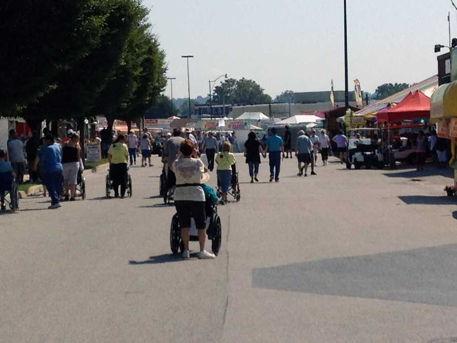 The York Fair started Friday and runs through Sept. 17.
