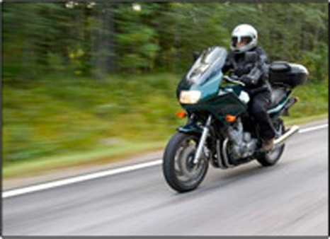 In 2010, 35 percent of all motorcycle riders involved in fatal crashes were speeding,compared to 23 percent for passenger car drivers, 19 percent for light-truck drivers, and 8 percent for large-truck drivers.