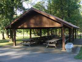 Two accessible picnic pavilions may be reserved up to 11 months in advance for a fee.