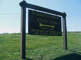 Susquehannock State Park is a 224-acre attraction located on a wood plateau that overlooks the Susquehanna River in southern Lancaster County.