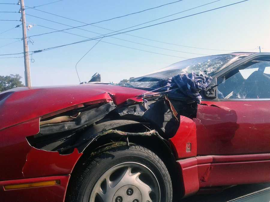The crash happened about 8 a.m. along Route 441 at Bridge Street.