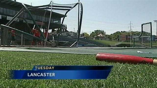 The Barnstormers also got in a workout Tuesday. They are coming off the best regular season in league history, winning 88 games and losing 52.
