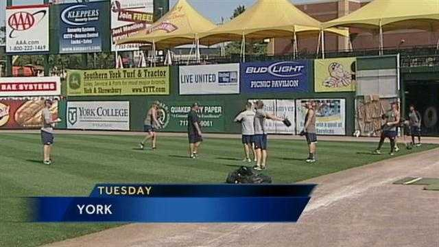 For the second year in a row, York and Lancaster are squaring off in the first round of the Atlantic League playoffs. Game one of the series is Wednesday night in Lancaster.
