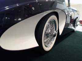 A one-of-a-kind car is now on display at the Antique Auto Museum in Hershey.
